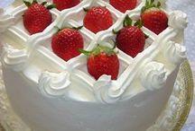 Torta chantilly con fragole