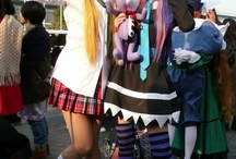 Panty and Stocking with Garterbelt Cosplay