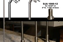 Stainless Steel / You removed your existing wood railing and now what do you do with the holes left behind, or are looking for an innovative way to install your new railing.  Here is an idea to consider...