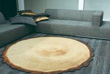나무 카페트