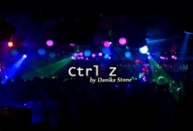 Ctrl Z, the novel. / A Pinterest board for Ctrl Z, by Danika Stone.
