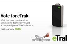 eTrak at CTIA / eTrak will be attending the CTIA Wireless Show and has been nominated for an Emerging Technology Award! / by eTrak