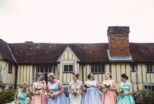 Stylish Bridesmaids / Nu Bride- providing fashionable inspiration for your bridesmaids