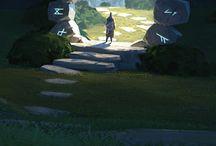 Webcomic - ambientazione - grotte Goblin