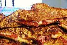 Grilled Cheese Sandwiches / by Amity Ross
