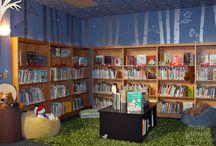 angoli lettura nido d'infanzia