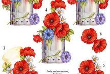 card fiori / raccolta di idee fiorite