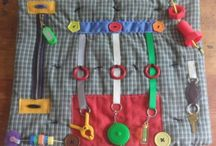 Sensory crafts items for young and old / The world is full of Autism and Alzheimer's, these ideas make it a safer, calmer place for this population and their caregivers, Ties with Hunters Place and Gifts in Jars.