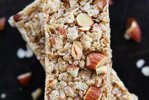 No bake almond bar