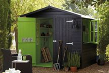 black garden shed inspiration