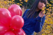 balloon teens girls