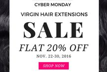 Black Friday Sale 2016 | Hair Extensions / Hair Extensions, Virgin Hair Extensions, Remy Hair, Indian Hair Extensions
