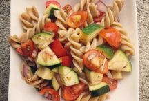 Pasta Salads / Whole food, plant-based Nutritarian cold salad dishes brought to you by Love Chard - www.LoveChard.com