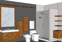 BATHROOM: 5-5x10-10 / WANT A FREE DESIGN FOR YOUR BATHROOM?  SEND MEASUREMENTS TO: marmotechpr@gmail.com. LIKE US ON FACEBOOK