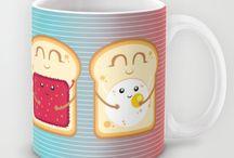 Mugs / Mugs illustrated by Alessandro Aru