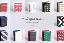 artiFarti - card collection 2014 / artiFarti 'a Hant to' Project 2nd collection - Knit your wish