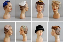 Hats-Vintage and New / by Avril Dudley