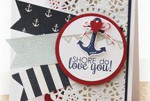Nice Navy Cards