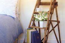 Escaleras de pintor