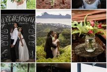 Real Bridechillas- Gorgeous Weddings / Be inspired by bold colours and creative wedding details!