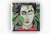 Gardens Around the World – Galeriebuch – Gallery Book