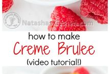 Creme Brulee / Put a spin on your creme brulee with these recipes.  | Creme Brulee | Dessert |