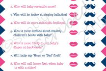 Baby shower/pregnancy stuff