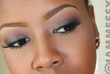 Darker skin beauty make-up / Beautiful make-up for the stunning darker skin tone.