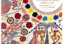 Our textile library / books about textiles