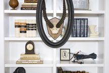 decorating shelves / by Tammy Bunnell