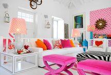 pink dekor