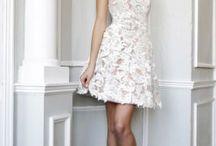 Mezuniyet kıyafetleri / Beyaz elbise