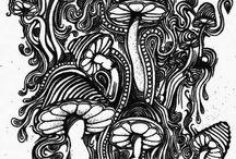 Trippy shrooms