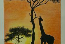 girafe en pastel ♥