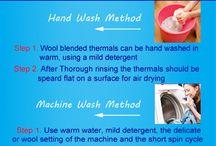 Wash Care Winter Clothes