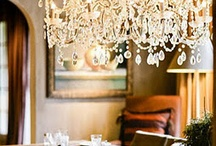 chandeliers / by Victoria Athens
