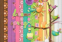 Dream of Spring - #Digiscrapping Kit / My Spring inspired Kit available exclusively at MyMemories http://www.mymemories.com/store/display_product_page?id=MHDS-CP-1205-15551&r=mel_hains