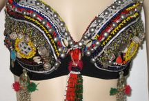 Tribal and gypsy bras