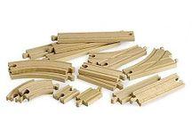 Brio Rails / Brio rails, allemaal op voorraad! Gemaakt van de beste kwaliteit beuken hout. http://www.brio-trein.nl/rails/