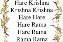 Hare Krishna / God who dances