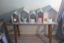 Mon petit atelier scandinave / Des idées de déco scandinave  Bois et pastels