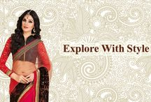 Designer Sari / Best site to plan a Indian wedding, WedMeGood covers real weddings, genuine reviews and best vendors | candid photographers, Make-up artists, Designers  sari etc visit to http://www.shopervilla.com/index.php