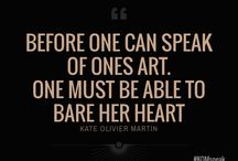 Art Quotes.KOM / The voice of an artist is not mad, or crazy. The voice of a true artist is the most real voice you'll hear. Ps: It's not always heard in words.