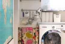 dream laundry room / by Kate Canterbury