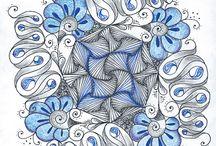 Zentangle / allerlei krabbels, doodles etc..