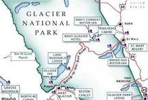 Glacier National Park! / by Pam Harmeyer