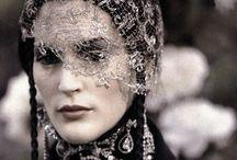 Birdcage veils / Bridal fashion