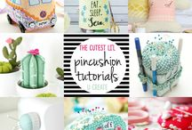 pincushions! / by Shelly Rhodes