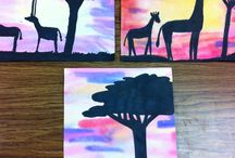 African themed classroom