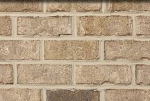 Libby Mill   Triangle Brick Company / New in Spring 2016!  The subtle yet sophisticated color pallet of the Libby Mill brick features beautiful shades of smoky gray and soft cream make for a gorgeous combination for any project.  This richly-textured and tumbled brick is classified under our Select product tier, providing customers with the highest-quality brick possible.  Add a sophisticated, understated touch to your project - choose Libby Mill from Triangle Brick Company.